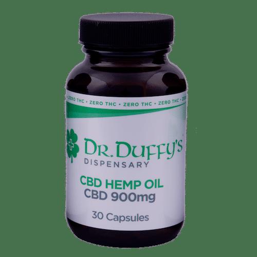 Dr. Duffy's 900mg Capsules 100% THC-Free