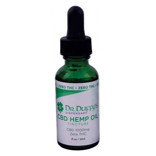 Dr. Duffy's 1000mg Tincture 100% THC-Free