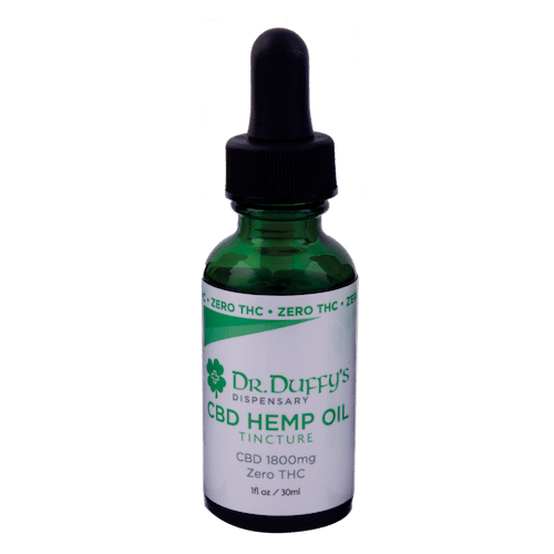 Dr. Duffy's 1800mg Tincture 100% THC-Free