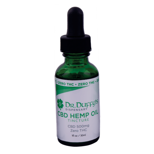 Dr. Duffy's 500mg Tincture 100% THC-Free