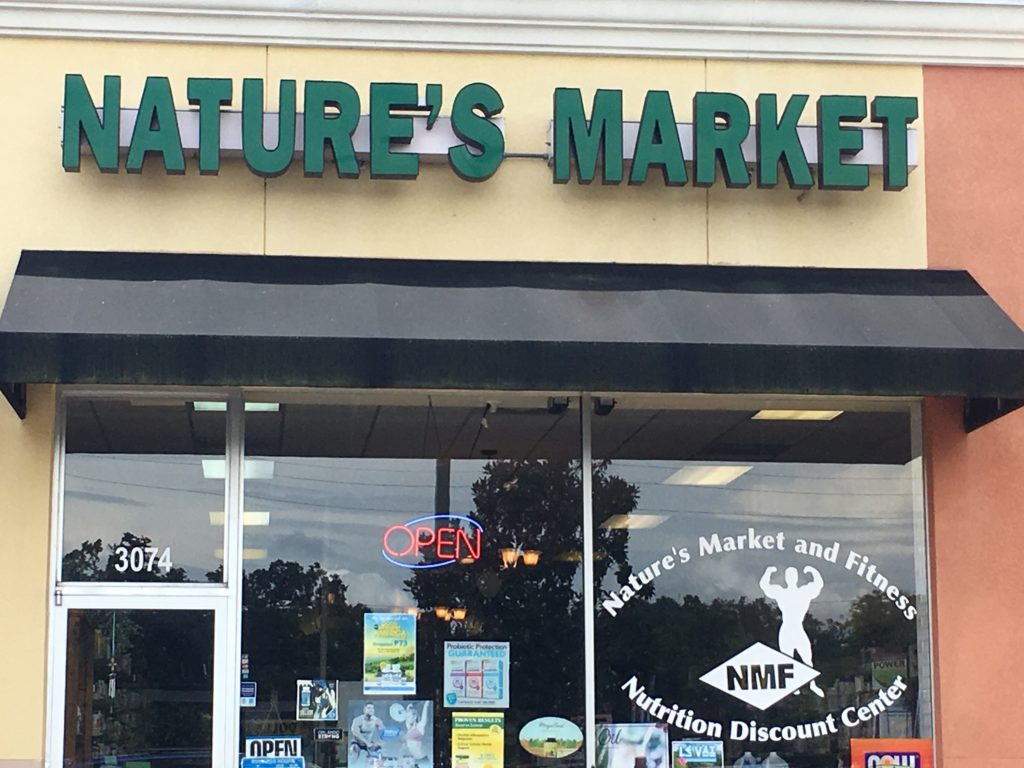 Nature's Market Retailer Storefront