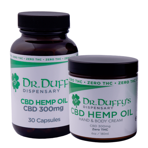 Dr. Duffy's Capsule Starter Kit - 300mg Capsules and 300mg Cream