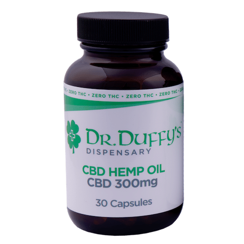 Dr. Duffy's 300mg Capsules 100% THC-Free