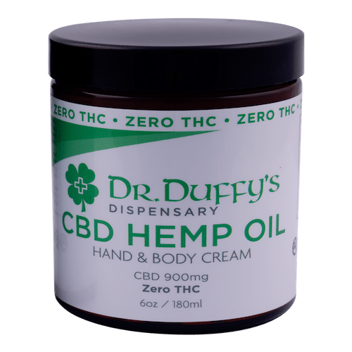 Dr. Duffy's 900mg Hand & Body Cream 100% THC-Free