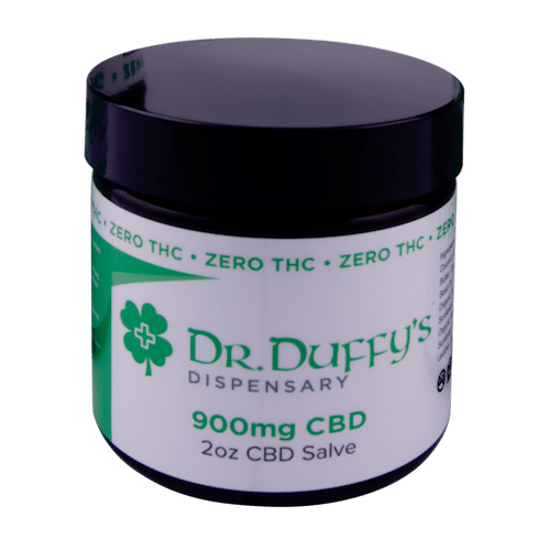 Dr. Duffy's 900mg Salve 100% THC-Free