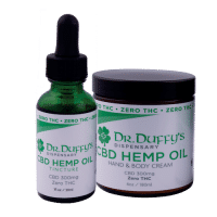Dr. Duffy's Tincture Starter Kit - 300mg Tincture and 300mg Cream